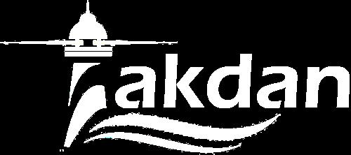 Akdan Footer Light Logo